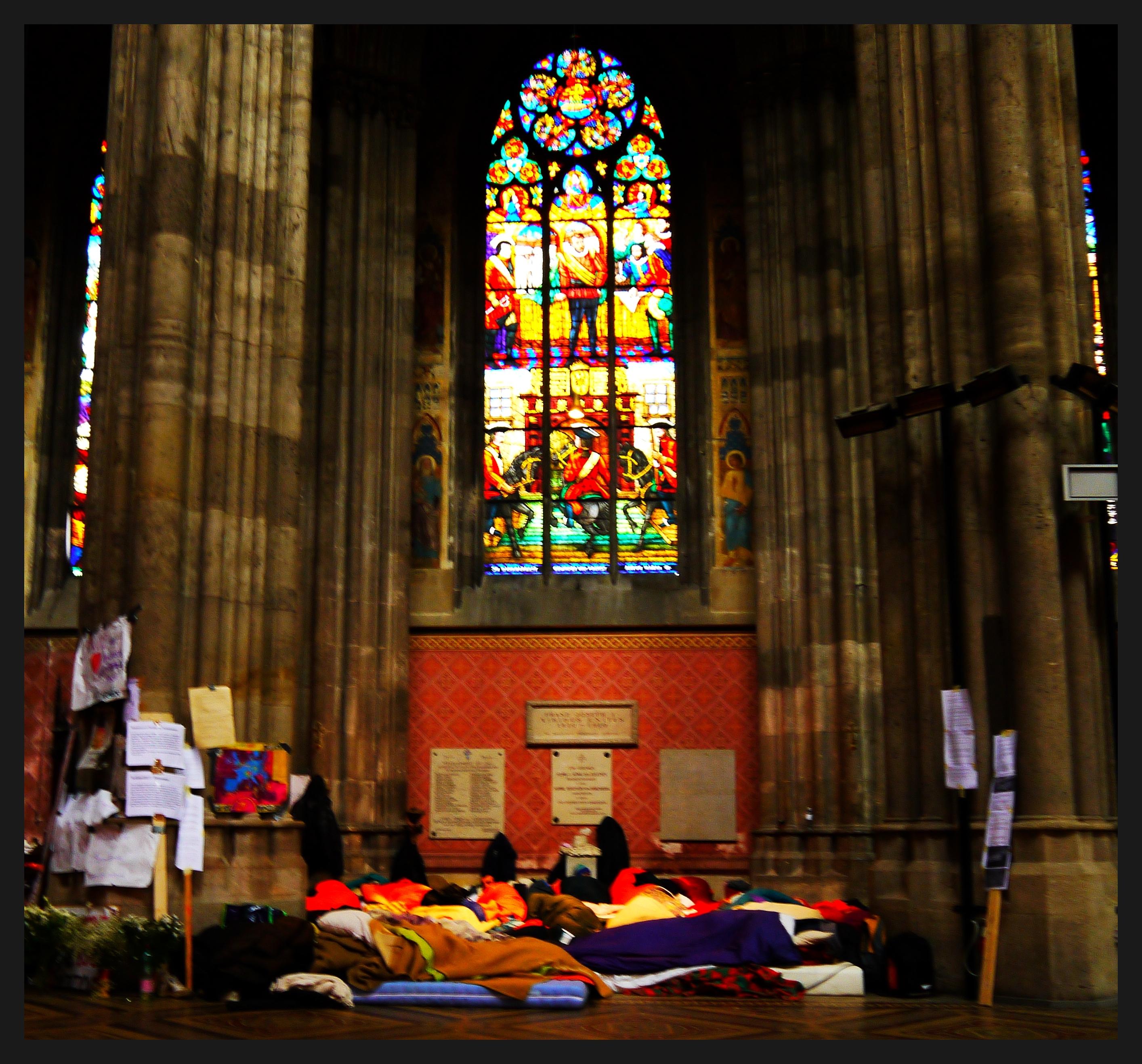 Protestcamp Votivkirche